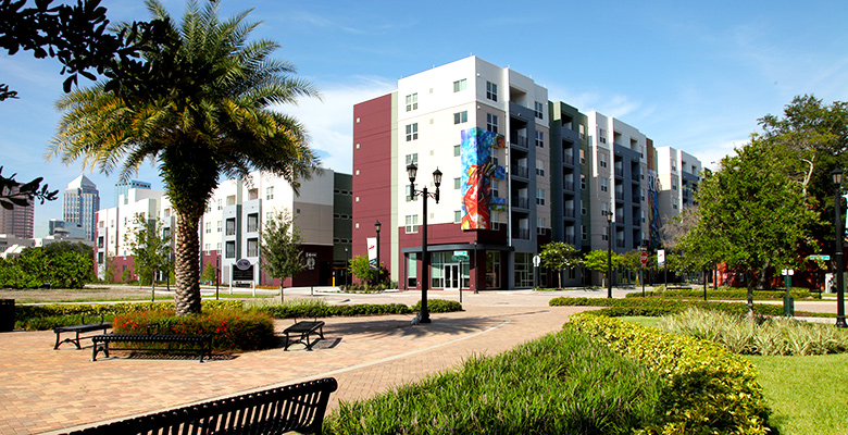 Pleasing Tampa Florida Apartments The Trio At Encore Downtown Download Free Architecture Designs Scobabritishbridgeorg